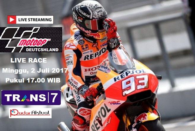 TV Online Trans 7 - Live Streaming Race MotoGP Sachsenring ...